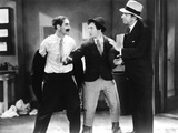 Horse Feathers, Groucho Marx, Chico Marx, David Landau, 1932 Photo