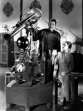 Mask Of Fu Manchu, Boris Karloff, Myrna Loy, 1932 Poster