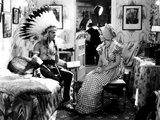 Lady Killer, James Cagney, Margaret Lindsay, 1933, In A Movie Set Dressing Room Photo