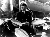 In Which We Serve, Noel Coward, 1942, At The British Navy Yard Photo