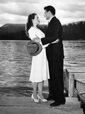 Leave Her To Heaven, Jeanne Crain, Cornel Wilde, 1945 Photo