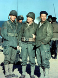 The Longest Day, Jeffrey Hunter, Eddie Albert, Robert Mitchum, 1962 Photo