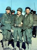 The Longest Day, Jeffrey Hunter, Eddie Albert, Robert Mitchum, 1962 Photo