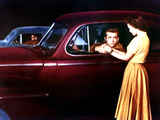 Rebel Without A Cause, Corey Allen, James Dean, Natalie Wood, 1955 Juliste
