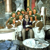 Willy Wonka And The Chocolate Factory, Gene Wilder, Oompa-Loompas, 1971 Photo