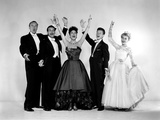 Call Me Madam, George Sanders, Billy Dewolfe, Ethel Merman, Donald O'Connor, Vera-Ellen, 1953 Photo