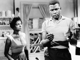 A Raisin In The Sun, Ruby Dee, Sidney Poitier, 1961 Photo