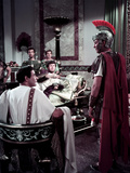Quo Vadis, Leo Genn, Peter Ustinov As Nero, Robert Taylor, 1951 Photo