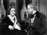 The Barretts Of Wimpole Street, Norma Shearer, Charles Laughton, 1934 Photo