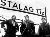 Stalag 17, Robert Strauss, William Holden, Harvey Lembeck, 1953 Photo