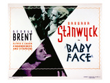 Baby Face, Douglass Dumbrille, Barbara Stanwyck, 1933 Prints