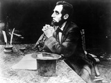 The Birth Of A Nation, Joseph Henabery As President Abraham Lincoln, 1915 Affiches