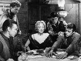 Rancho Notorious, Arthur Kennedy Marlene Dietrich, Jack Elam, 1952 Photo