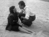 Ossessione, Clara Calamai, Massimo Girotti, 1943 Photographie