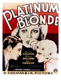Platinum Blonde, Loretta Young, Robert Williams, Jean Harlow, 1931 Photo