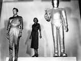 The Day The Earth Stood Still, Michael Rennie, Patricia Neal, Gort, 1951 Photo