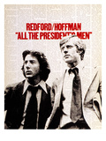 All The President's Men, Dustin Hoffman, Robert Redford, 1976 Posters