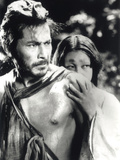 Rashomon, Toshiro Mifune, Machiko Kyo, 1950 Poster