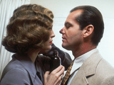 Chinatown, Faye Dunaway, Jack Nicholson, 1974 Photo