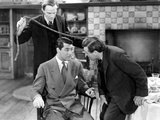 Arsenic And Old Lace, Raymond Massie, Cary Grant, Peter Lorre, 1944, Attacking From Behind Photo