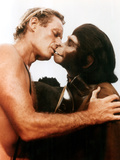 Planet Of The Apes, Charlton Heston, Kim Hunter, 1968 Photo