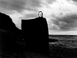 The Seventh Seal, Bengt Ekerot, 1957 Foto