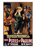 The Perils Of Pauline, Pearl White, 1914 Posters