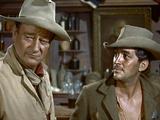Rio Bravo, John Wayne, Dean Martin, 1959 Photo