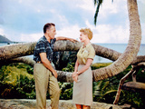 South Pacific, Rossano Brazzi, Mitzi Gaynor, 1958 Photographie