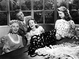 Mother Wore Tights, Betty Grable, Dan Dailey, Connie Marshall, Mona Freeman, 1947 Photo