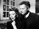 The Stranger, Loretta Young, Orson Welles, 1946 Posters
