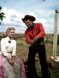 Oklahoma, Shirley Jones, Gordon MacRae, 1955 Photographie