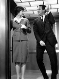 The Apartment, Shirley MacLaine, Jack Lemmon, 1960 Lámina