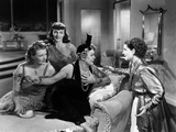 The Women, Phyllis Povah, Paulette Goddard, Mary Boland, Norma Shearer, 1939 Poster
