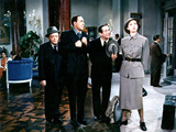 Silk Stockings, Peter Lorre, Jules Munshin, Joseph Buloff, Cyd Charisse, 1957 Photo