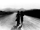 Modern Times, Charlie Chaplin, Paulette Goddard, 1936 Poster
