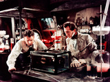 The Curse Of Frankenstein, Robert Urquhart, Peter Cushing, 1957 Photo