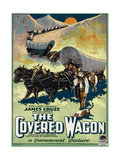 The Covered Wagon, 1923 Print