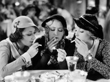 Three On A Match, Ann Dvorak, Joan Blondell, Bette Davis, 1932 Photo