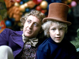 Willy Wonka And The Chocolate Factory, Gene Wilder, Peter Ostrum, 1971 Photo
