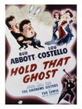 Hold That Ghost, Bud Abbott, Lou Costello, The Andrews Sisters, Ted Lewis, 1941 Plakater