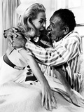 Carry On Doctor, Valerie Van Ost, Sid James, 1967 Kunstdrucke