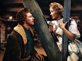Seven Brides For Seven Brothers, Howard Keel, Jane Powell, 1954 Photo