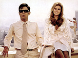 Myra Breckinridge, Rex Reed, Raquel Welch, 1970 Photo