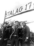 Stalag 17, Harvey Lembeck, William Holden, Robert Strauss, 1953 Photo