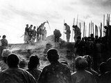 The Seven Samurai, (AKA Shichinin No Samurai), 1954 Psters