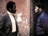 Shaft, Richard Roundtree, Christopher St. John, 1971 Photo
