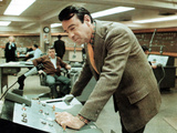 The Taking Of Pelham One Two Three, Walter Matthau, Dick O'Neill, 1974 Photo
