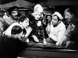 Seven Sinners, Mischa Auer, Marlene Dietrich, Broderick Crawford, 1940 Photo