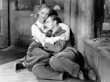 The Petrified Forest, Bette Davis, Leslie Howard, 1936 Kunstdruck